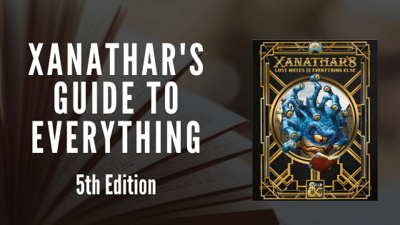 Xanathar's Guide to Everything PDF Download 5e