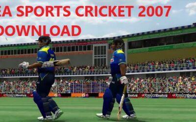 EA SPORTS CRICKET 2007 DOWNLOAD